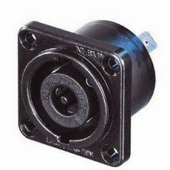 Neutrik NLT8MP-BAG 8-Pole Speakon Chassis Socket Black