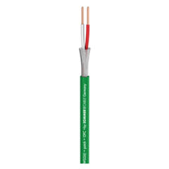 Sommer 300-0314 Scuba Miniature Balanced Mic Cable Green