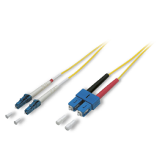 Sommer Fibre Patch Cable LC/SC Single Mode 9/125 µm 0.5m
