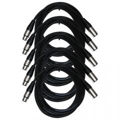 Neutrik China XLR Cable 5m (5 Pack)