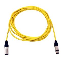 Pro Neutrik XLR Cable 7m Yellow