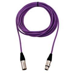 Pro Neutrik XLR Cable 20m Violet