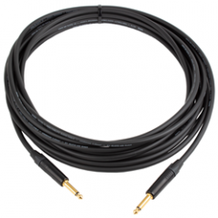 Pro Neutrik Guitar Lead Gold Jack 10m