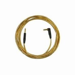 Pro Neutrik ZX Guitar Lead 5M Gold Right Angled