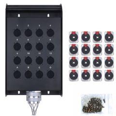 Neutrik Pro SB16 Jack Bundle 16xJack