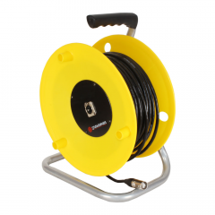 Pro CAT5e Cable Drum 50m Screened Neutrik Chassis