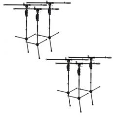 Studiospares Pro One Hand 6-Pack Mic Stands/Booms