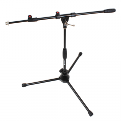 Studiospares Pro Short Mic Stand and Telescopic Boom