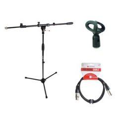 Studiospares Pro Mic Stand/5m XLR/Mic Holder Pack 1