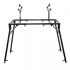 Trojan Pro Expandable & Folding Keyboard Two Tier Stand & DJ Bench Frame