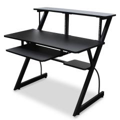 Troilus Studio Desk Workstation Black by Trojan Pro