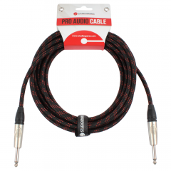 Pro Cloth Guitar Lead 10m