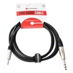 Stereo Mini Jack to Stereo Jack Lead 2m