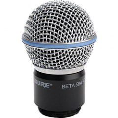 Shure Beta 58A Wireless Capsule RPW118