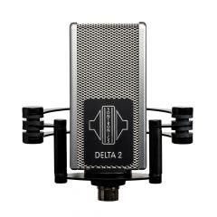 Sontronics DELTA 2 phantom-powered ribbon mic for guitar amps + brass