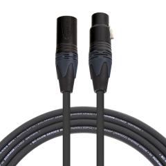 Pro Neutrik XLR Cable 1m (Black Plugs)