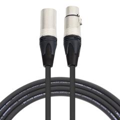 Pro Neutrik XLR Cable 2.5m Black