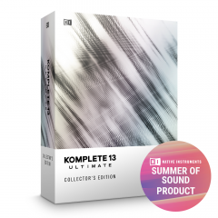 NI Komplete 13 Upgrade from Select to Komplete 13 Ultimate Collectors Edition