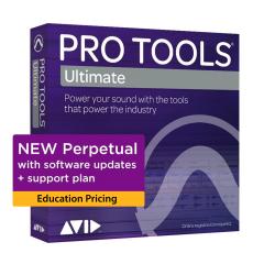 Avid Pro Tools | Ultimate Perpetual License - Education