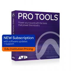 Avid Pro Tools 1-Year Subscription - Edu Institution