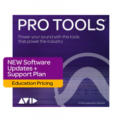 Avid Pro Tools 1-Year Updates & Support - Education