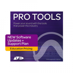Avid Pro Tools 1-Year Updates & Support - Edu Inst