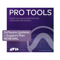 Avid Pro Tools 1-Year Updates & Support Renewal