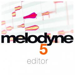 Melodyne 5 editor