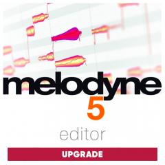 Celemony Upgrade Melodyne 5 editor from assistant