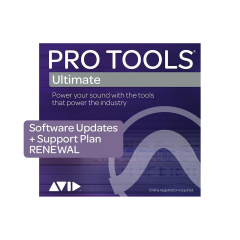Avid Pro Tools Ultimate 1-Year Support Renewal - Education