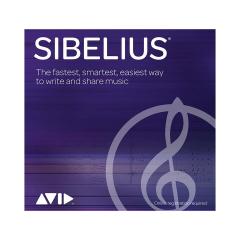 Avid Sibelius New Support