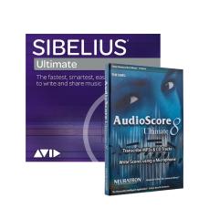 Avid Sibelius Ultimate and AudioScore