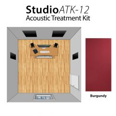 Studiospares StudioATK-12 Acoustic Treatment Kit Burgundy
