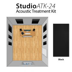 Studiospares StudioATK-24 Acoustic Treatment Kit Black