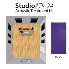 Studiospares StudioATK-24 Acoustic Treatment Kit Purple
