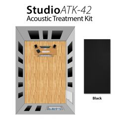 Studiospares StudioATK-42 Acoustic Treatment Kit Black