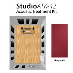 Studiospares StudioATK-42 Acoustic Treatment Kit Burgundy