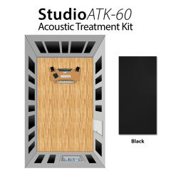 Studiospares StudioATK-60 Acoustic Treatment Kit Black