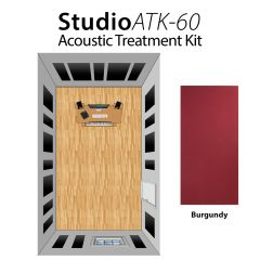 Studiospares StudioATK-60 Acoustic Treatment Kit Burgundy