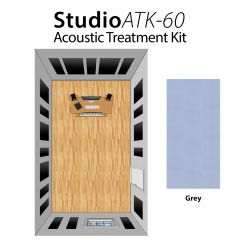 Studiospares StudioATK-60 Acoustic Treatment Kit Grey