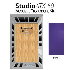 Studiospares StudioATK-60 Acoustic Treatment Kit Purple