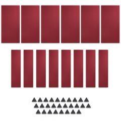 Studiospares StudioATK-42 Acoustic Treatment Kit Burgundy